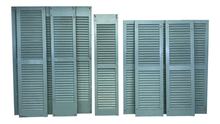 Wood Painted Shutters